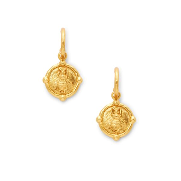 Julie Vos Bee Charm Earring