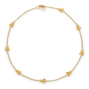 Julie Vos Bee Delicate Necklace
