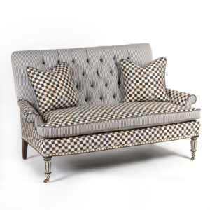 Mackenzie Childs Underpinnings Loveseat
