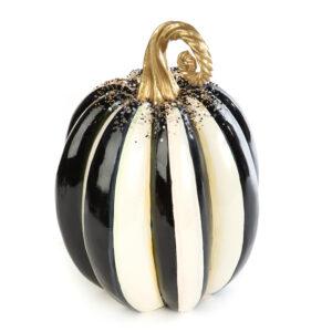 Medium Beaded Stripe Pumpkin