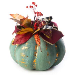 Small Verdigris Pumpkin