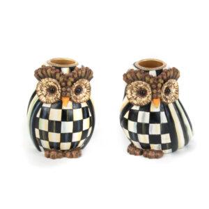Owl Candlesticks