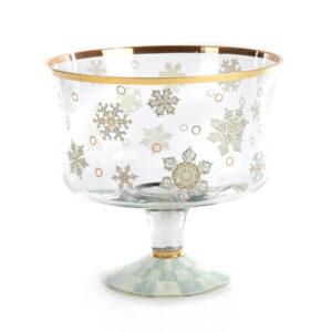 Snowfall Trifle Bowl