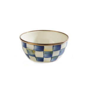Royal Check Pinch Bowl