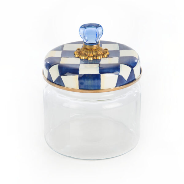 Royal Check Small Kitchen Canister