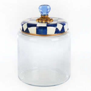 Royal Check Large Kitchen Canister