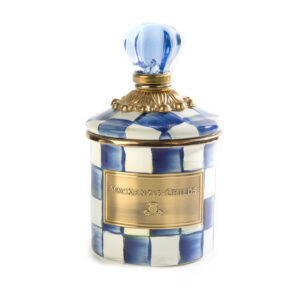 Royal Check Mini Canister