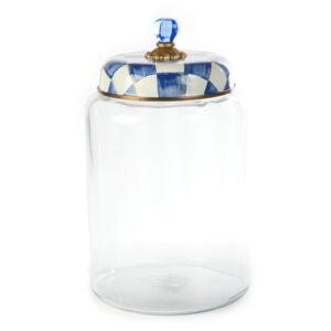 Royal Check Biggest Storage Canister