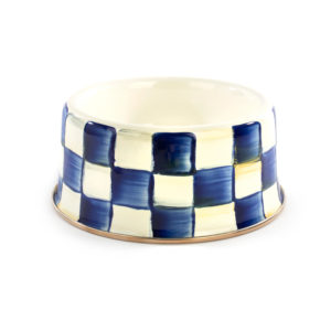Royal Check Medium Pet Dish