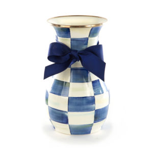 Royal Check Tall Vase