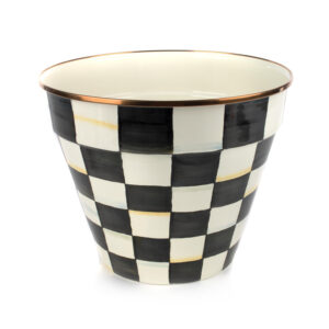 Courtly Check Extra Large Garden Pot