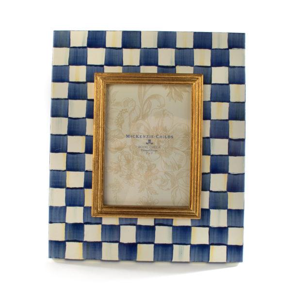 Royal Check 5x7 Frame