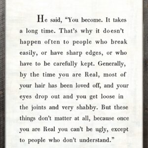 The Velveteen Rabbit Wall Art