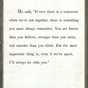 A.A. Milne Wall Art