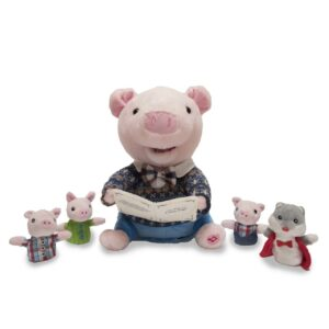 Preston the Story telling Pig