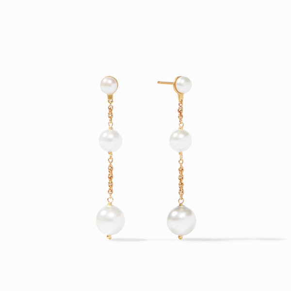 Julie Vos Cascade Pearl Earrings
