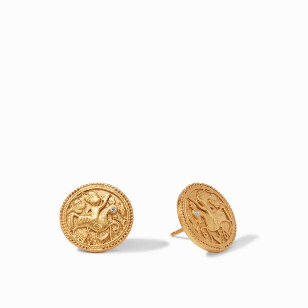 Julie Vos Coin Stud