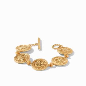 Julie Vos Coin Bracelet