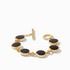 Julie Vos Double Sided Bracelet - Black Onyx