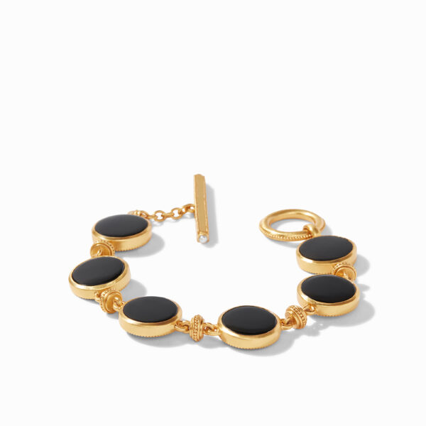Julie Vos Double Sided Bracelet - Black Onyx