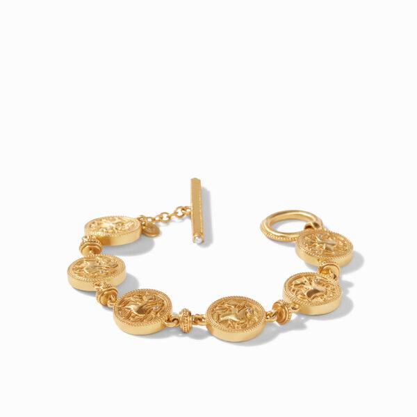 Julie Vos Coin Double Sided Bracelet