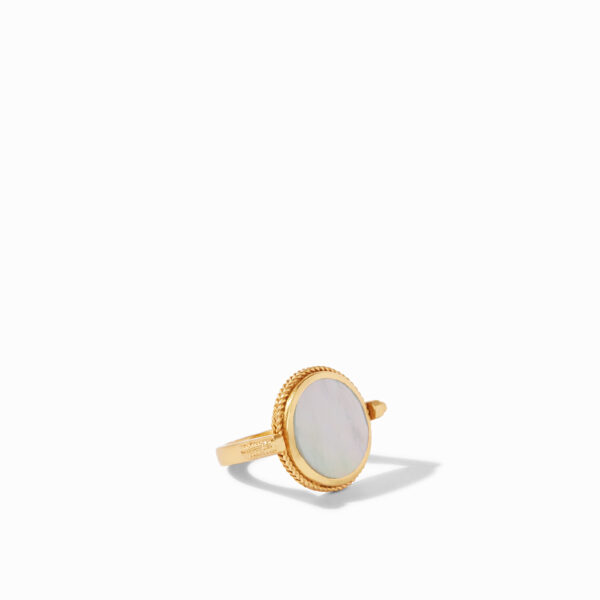 Julie Vos Revolving Ring - Mother of Pearl
