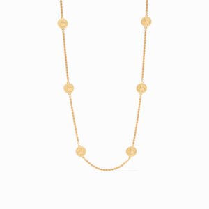 Julie Vos Coin Station Necklace