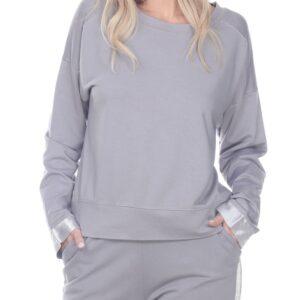 Izzy Sweatshirt - Dark Silver