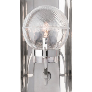 Graham Globe on Lisbon Sconce in Nickel