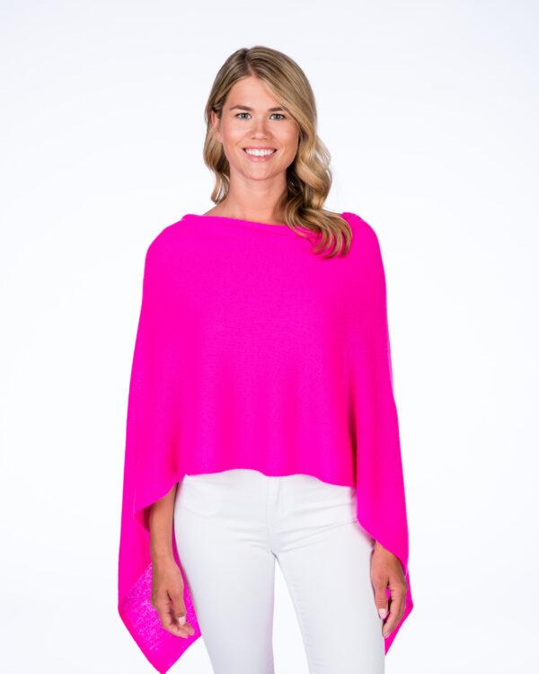 Tickled Pink Cashmere Popover