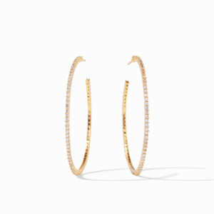 Paris Hoop Extra Large Paris Hoop - Zircon