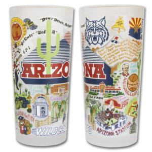 University of Arizona Drinking Glasses