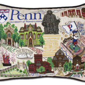 University of Pennsylvania Embroidered Pillow