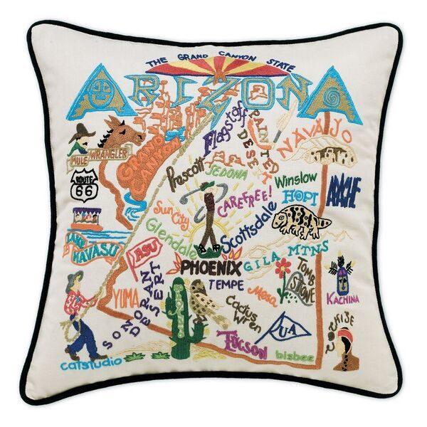 Arizona Embroidered Pillow